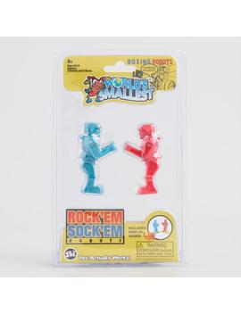 World's Smallest Rock'em Sock'em Robots by World Market