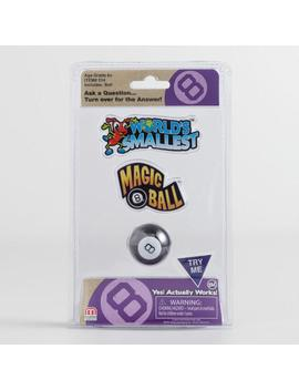 World's Smallest Magic 8 Ball Toy by World Market