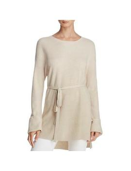 Elizabeth And James Womens Gisella  Beige Slouchy Tunic Sweater Top S Bhfo 3856 by Elizabeth And James