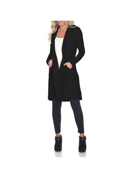 Women's Hooded Cardigan by White Mark