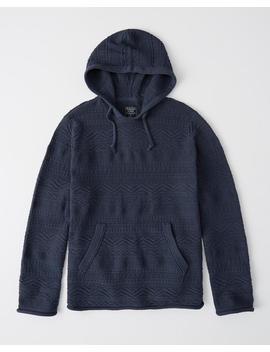Geometric Hoodie by Abercrombie & Fitch