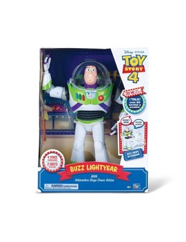 Disney Pixar Toy Story 4 Interactive Buzz Lightyear Figure by Toy Story