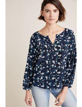 Yumi Kim Lobelia Silk Blouse by Yumi Kim