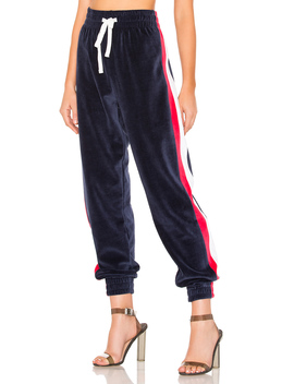 Drawstring Velour Pant by Kendall + Kylie