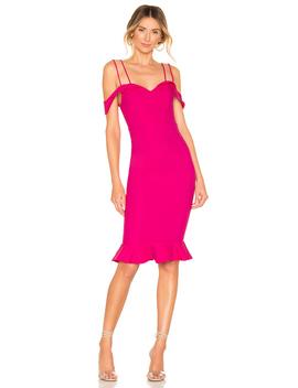 Violette Bardot Midi Dress by Superdown