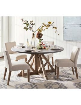 Outstanding Shoptagr Brooks Round Dining Table Seadrift 60 D By Pabps2019 Chair Design Images Pabps2019Com