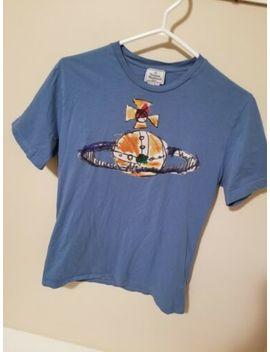 Vivienne Westwood Man London Orbit Cotton Tee Shirt Pre Worn Size Medium by Vivienne Westwood