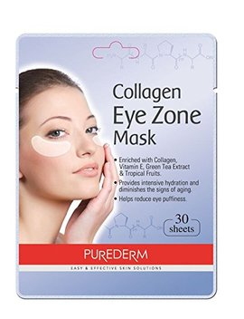 Deluxe Collagen Eye Mask Collagen Pads For Women By Purederm 4 Pack Of 30 Sheets/Natural Eye... by Purederm