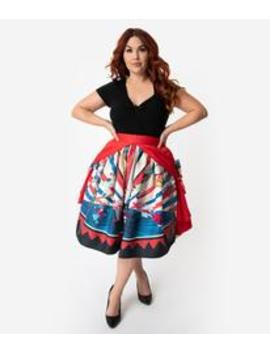 90c6d2fbb32c Shoptagr | Unique Vintage Plus Size 1950s Style The Greatest Skirt ...