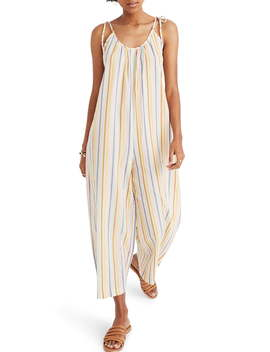 Tie Strap Cover Up Jumpsuit by Madewell