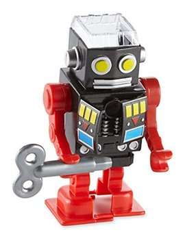 Wind Up Toy Robot Pencil Sharpener by Kikkerland