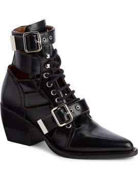 Rylee Caged Pointy Toe Boot by ChloÉ