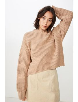 Slouchy Rib  Jumper by Cotton On