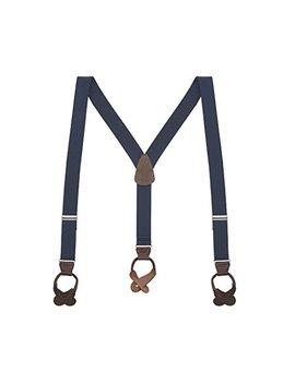 Suspender Store Men's Y Back Button Suspenders   1.25 Inches Wide by Suspender Store
