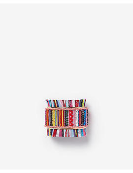 Beaded Fringe Cuff by Express