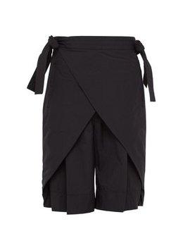 Nanpou Wrap Around Shell Shorts by Sasquatchfabrix