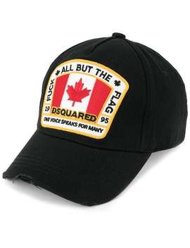 Canadian Flag Patch Baseball Cap by Dsquared2