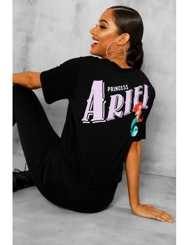 Disney Ariel Licence T Shirt & Jogger Set by Boohoo