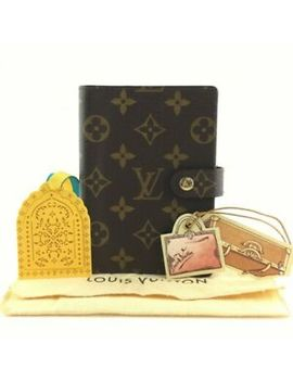 D0723 Authentic Louis Vuitton Agenda Pm R20005 by Louis Vuitton