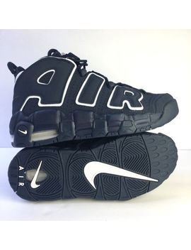 Nike Air More Uptempo Gs Size 5.5 Youth Obsidian Navy Blue White 415082 401 by Nike