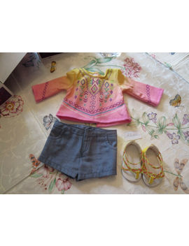 American Girl Lea Clark's Bahia Outfit New In Box by American Girl