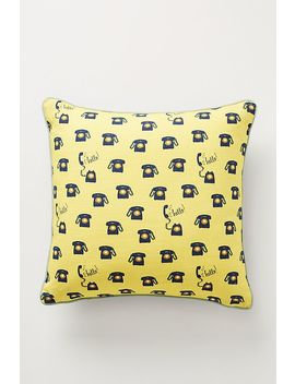 Colloquial Pillow by 52 Conversations By Anthropologie