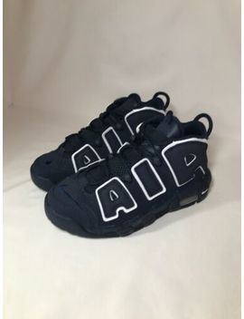 """Nike Air More Uptempo (Gs) Youth Sz 5.5 Y """"Obsidian Blue"""" (415082 401) by Nike"""
