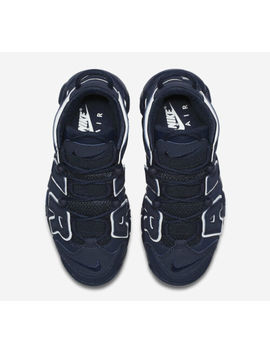 Brand New Nike Air More Uptempo (Gs) 415082 401 Obsidian Size 5.5 Y by Nike