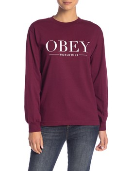 Bad Luck Long Sleeve Tee by Obey