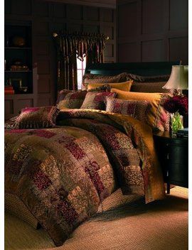 Croscill 2 A0 005 O0 6405/610 Galleria Comforter Set, Wc King, Red by Croscill
