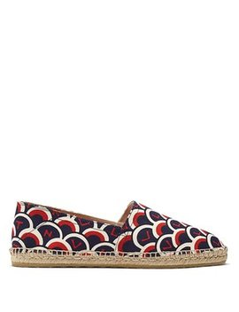 Scale Print Canvas Espadrilles by Valentino