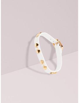Studded Leather Bracelet by Kate Spade