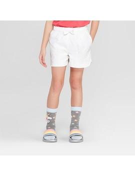 Girls' Eyelet Shorts   Cat &Amp; Jack by Cat & Jack