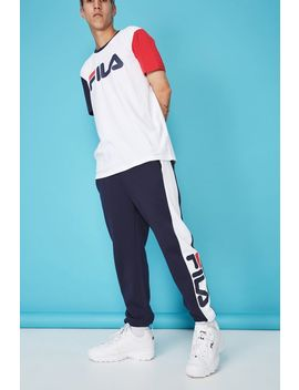Fila Lcn Side Panel Track Pant by Cotton On