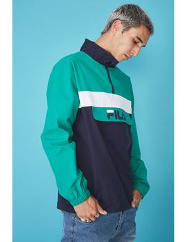 Fila Lcn Qtr Zip Jacket by Cotton On