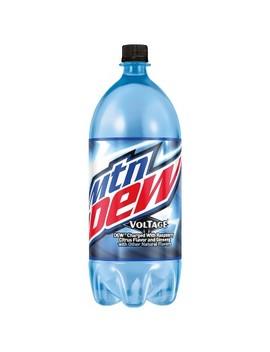 Mountain Dew Voltage Soda   2 L Bottle by 2 L Bottle