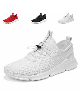 Ct Tebrun Men's Fashion Sneakers Ultra Lightweight Breathable Mesh Running Shoes Casual Walking Gym Shoes by Ct Tebrun