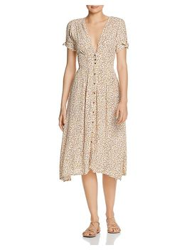 Billie Floral Midi Dress by Faithfull The Brand