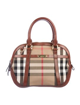 Orchard Bridle House Check Bag by Burberry