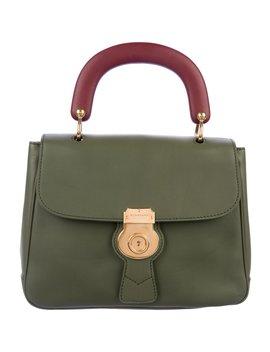 Medium Dk88 Top Handle Bag by Burberry