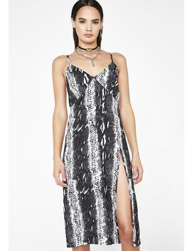 Venom Slip Dress by Twiin