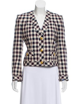 Céline Vintage Wool Blend Jacket by Celine