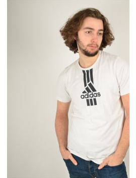 Vintage Adidas T Shirt In White by Adidas