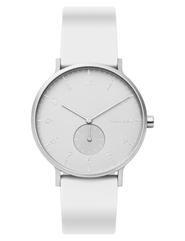 Aaren Kulør Rubber Strap Watch, 41mm by Skagen