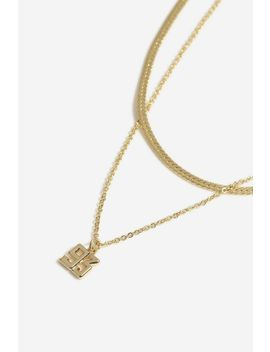 **93 Multirow Necklace by Topshop
