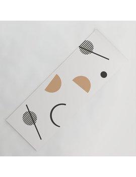 Chara   Minimalist Art Print, Abstract Art, Earth Tones, Neutral Art Print, Geometric Art Print, Yoga Mat by Society6