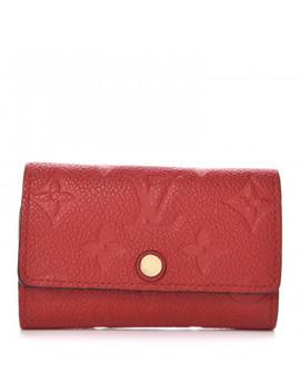 Louis Vuitton Empreinte Multicles 6 Key Holder Scarlet by Louis Vuitton