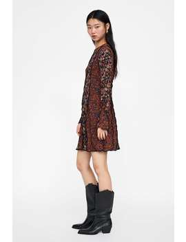Leather Cowboy Heel Boots View All Shoes Woman by Zara