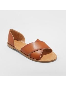 Women's Lois Crossband Sandals   Universal Thread by Universal Thread