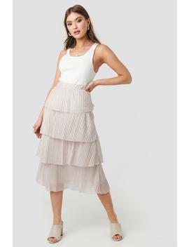 eb559498f1 Shoptagr | Layer Frill Skirt by Trendyol